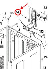 Whirlpool Part# 279318 Terminal Block Wire Kit (OEM) on