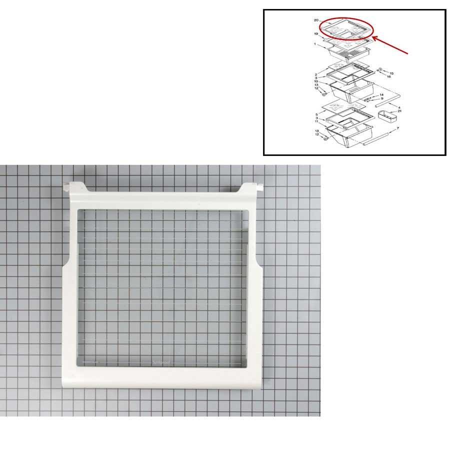 Whirlpool 5ed5fhkxva00 Refrigerator Door Gasket Fip