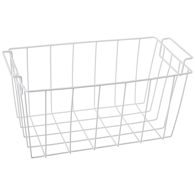 Crosley CFC07LW Wire Deep Freezer Basket (White)