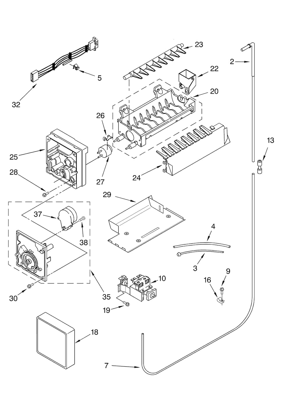 Wiring Database 2020  27 Kenmore Coldspot Model 106 Parts
