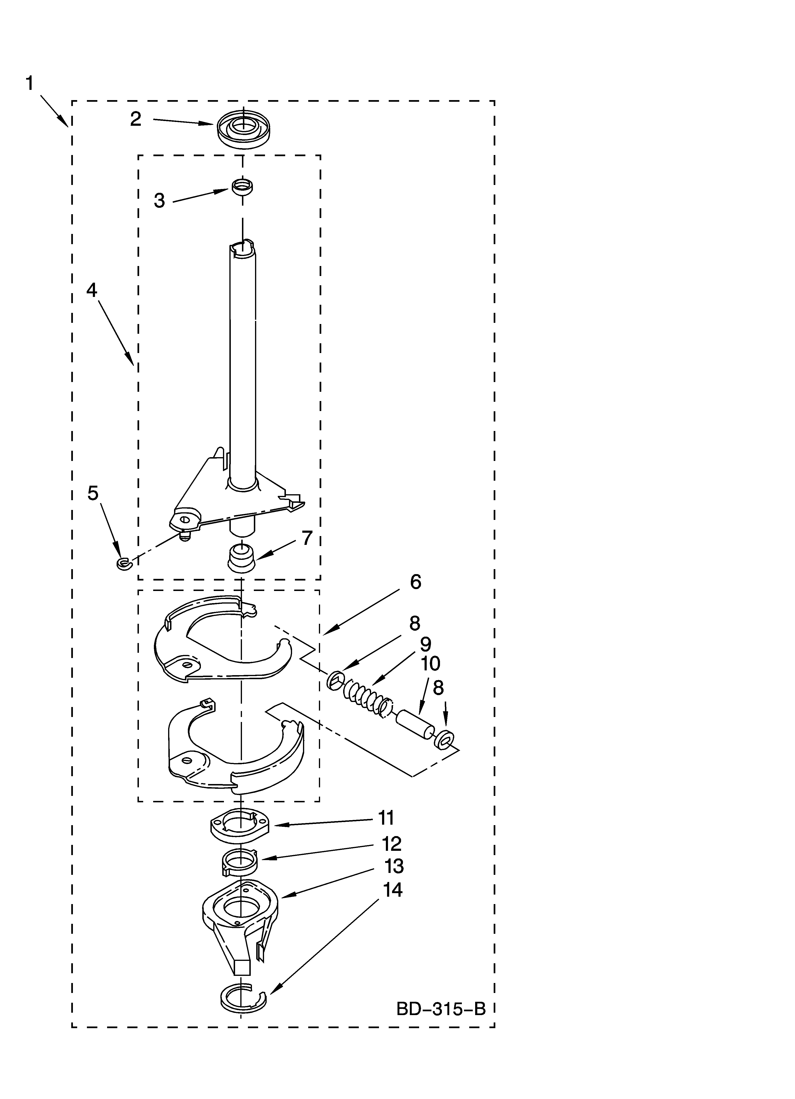 kenmore 110 16962500 neutral drain kit