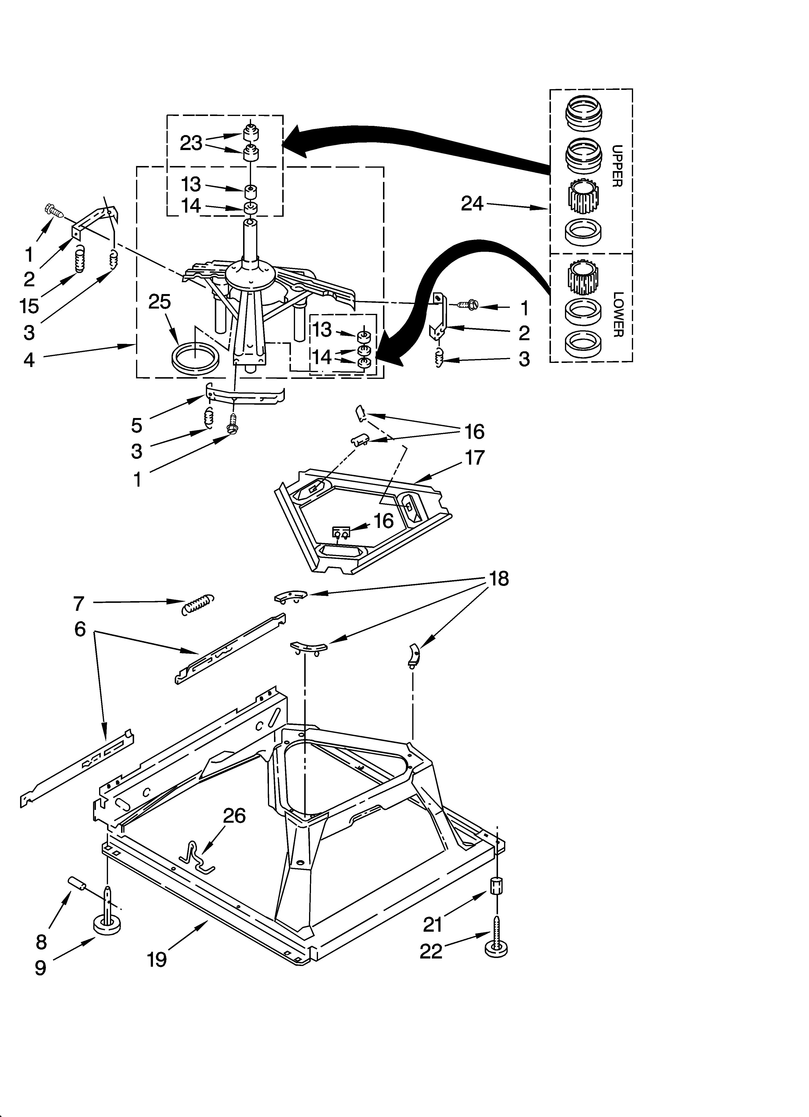 kenmore 110 25862400 spring kit  counter balance