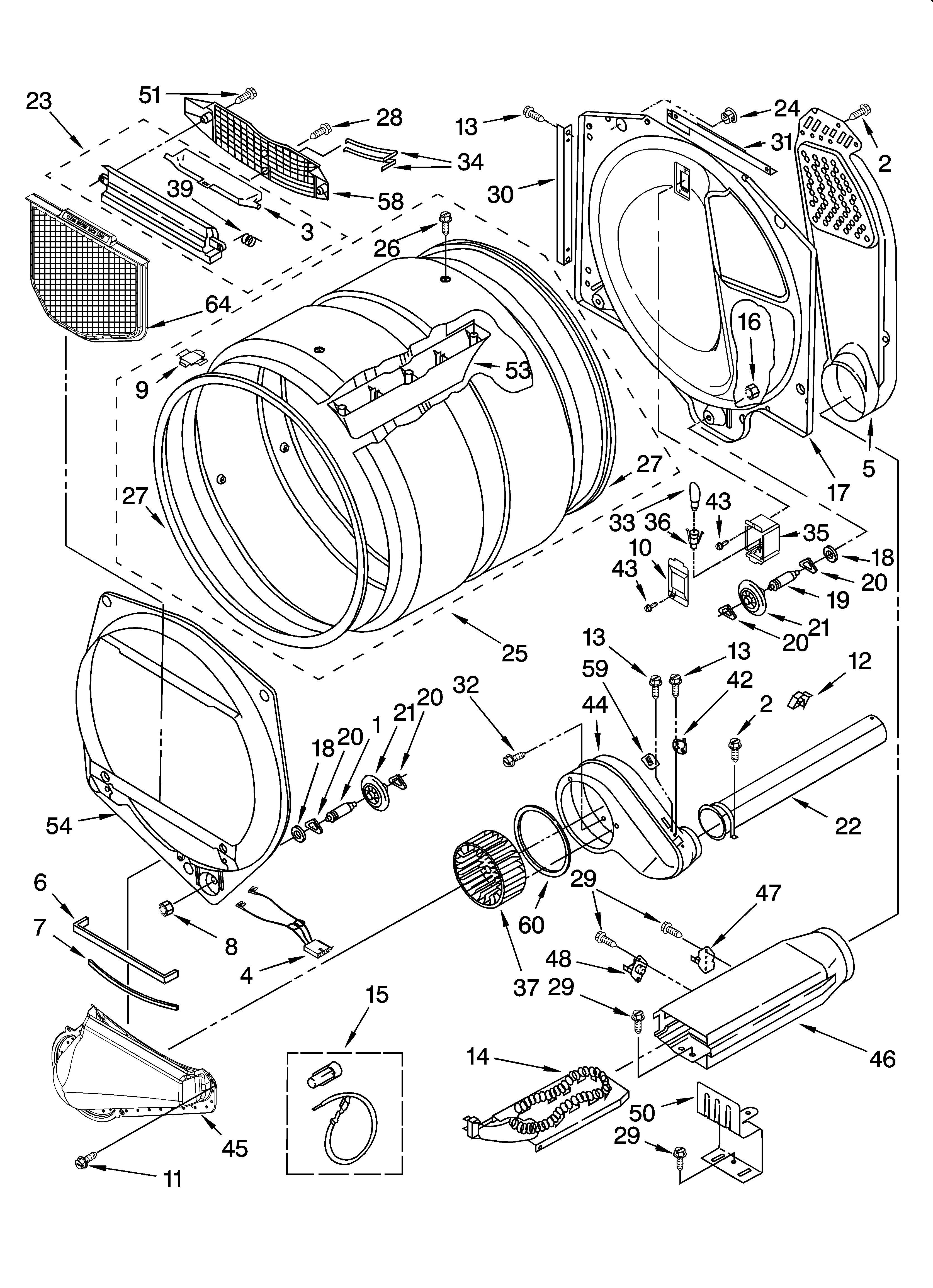 Wiring Diagram For Whirlpool Duet Dryer Heating Element from www.genuinereplacementparts.com
