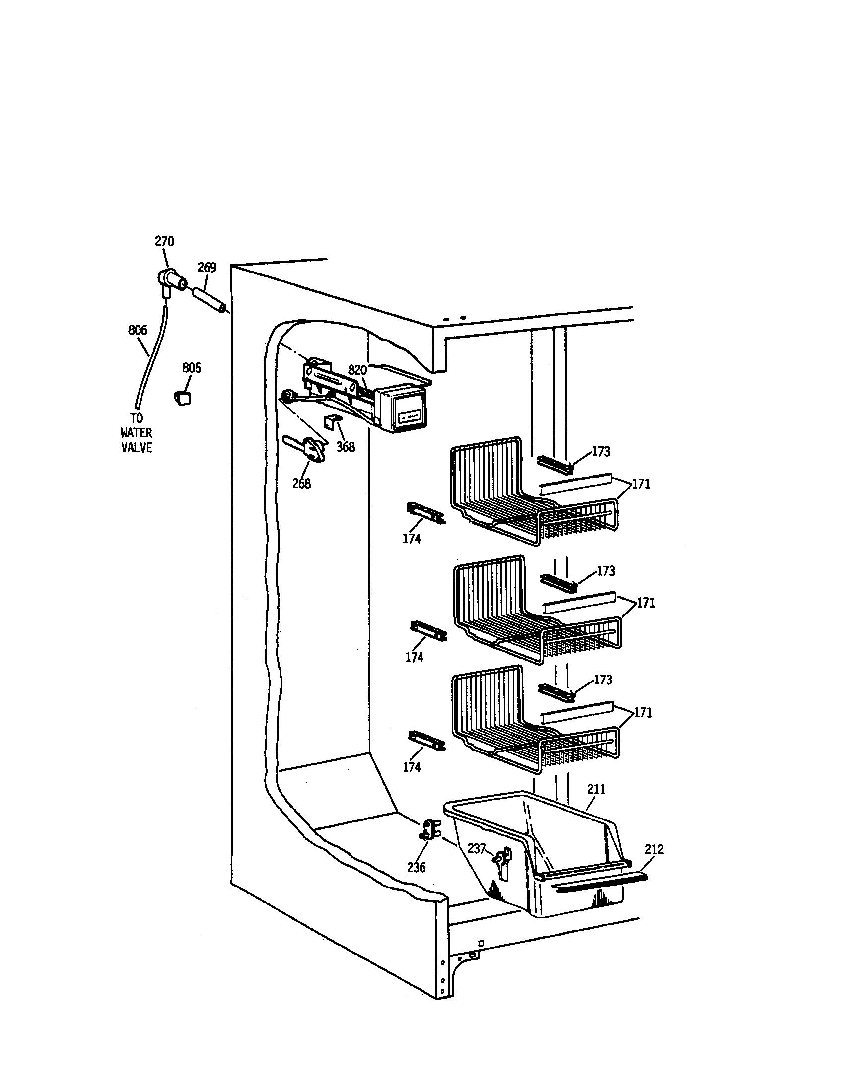 Ge refrigerator ice maker assembly kit