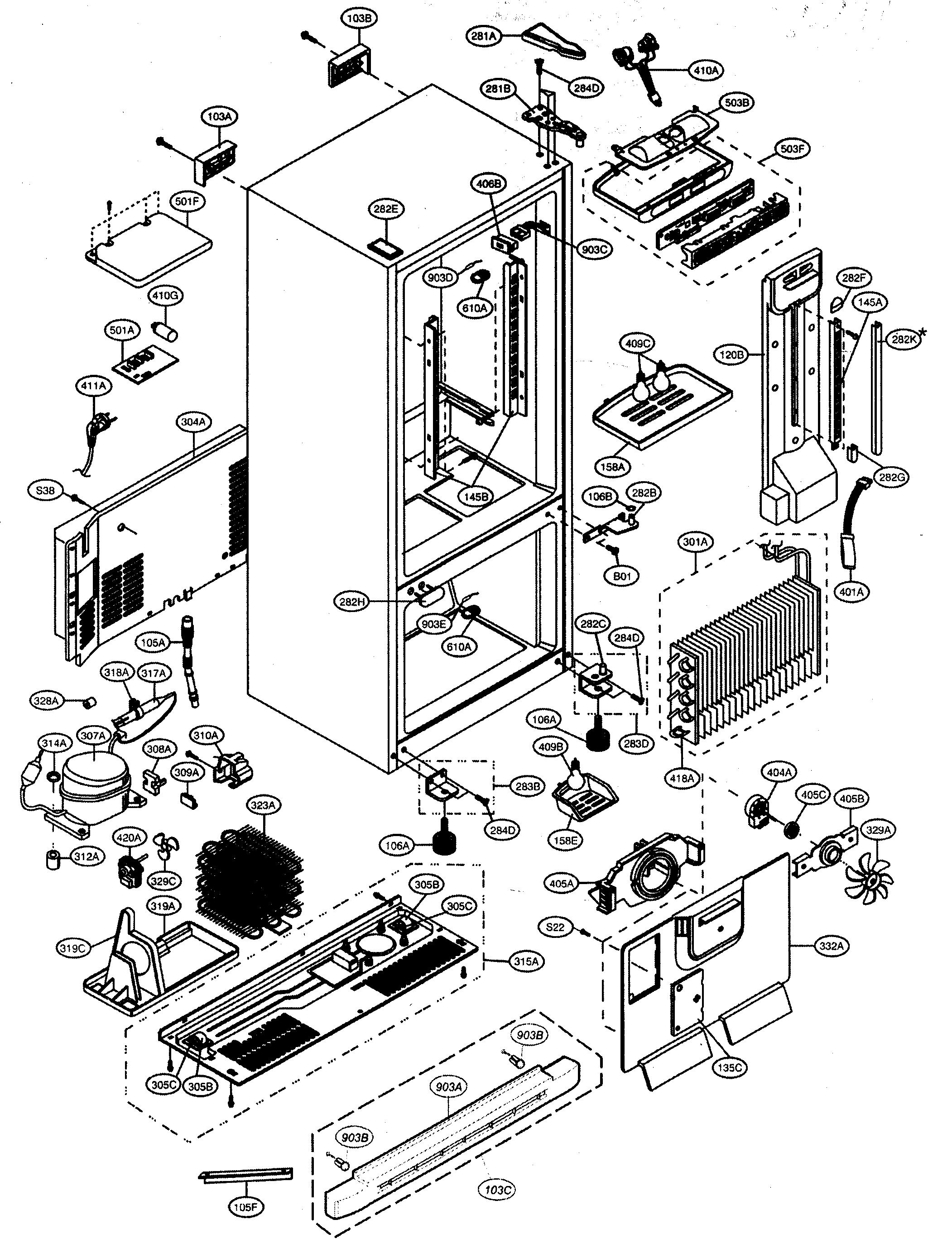 kenmore 795 65204 401 defrost heater sheath-element