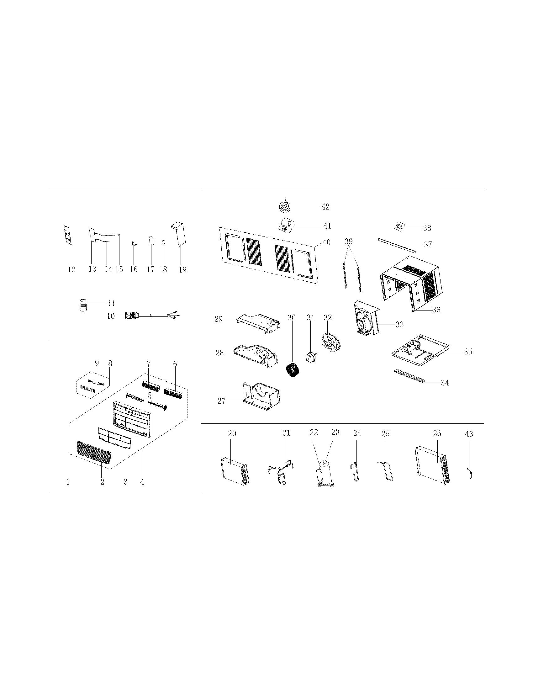 Frigidaire Cra074at712 Window Accordion Filler Kit