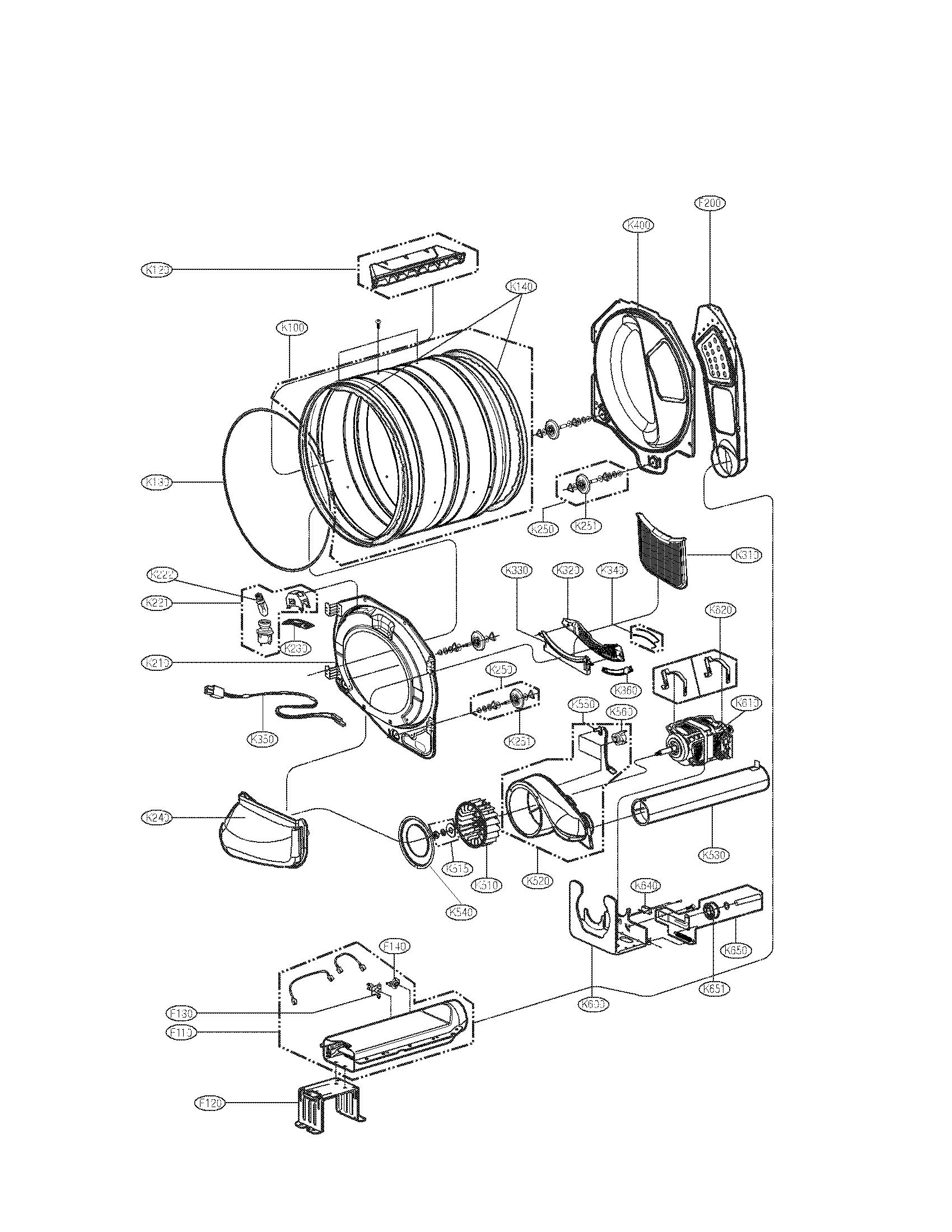lg dle2532w hi-limit thermostat