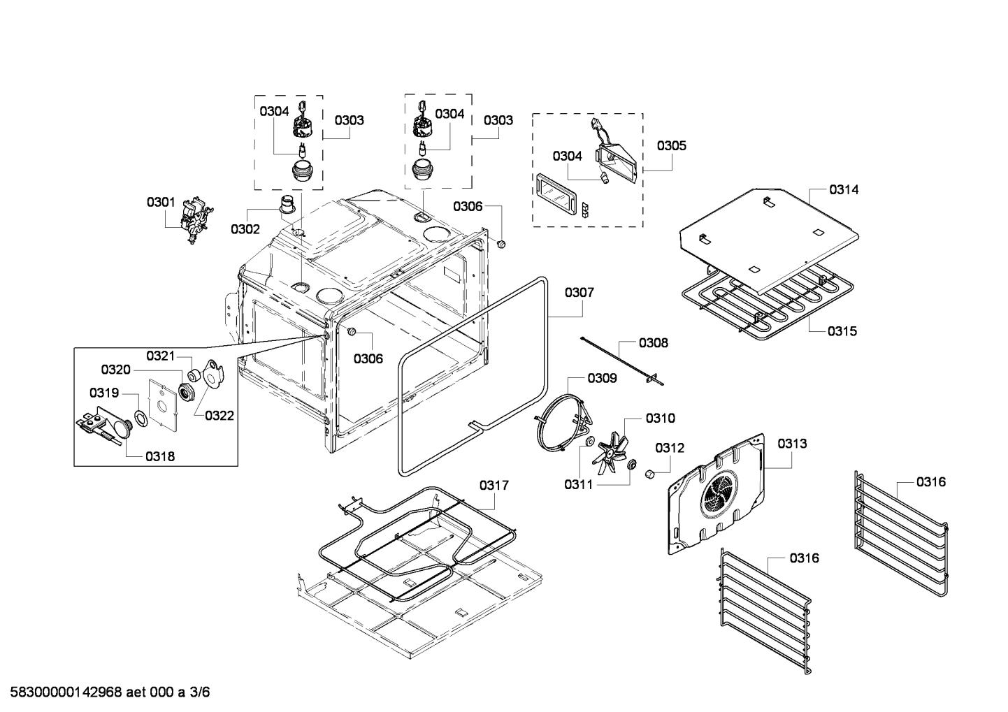 Bosch Hbl8450uc  07 Temperature Sensor