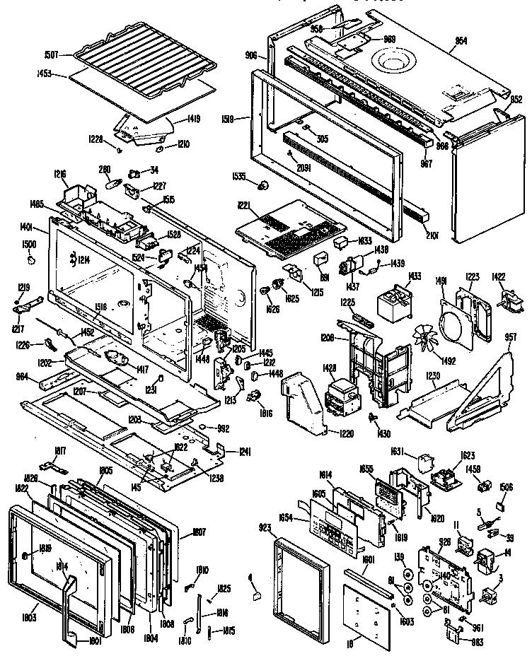 Ge Jhp70vk1 Capacitor Genuine Oem
