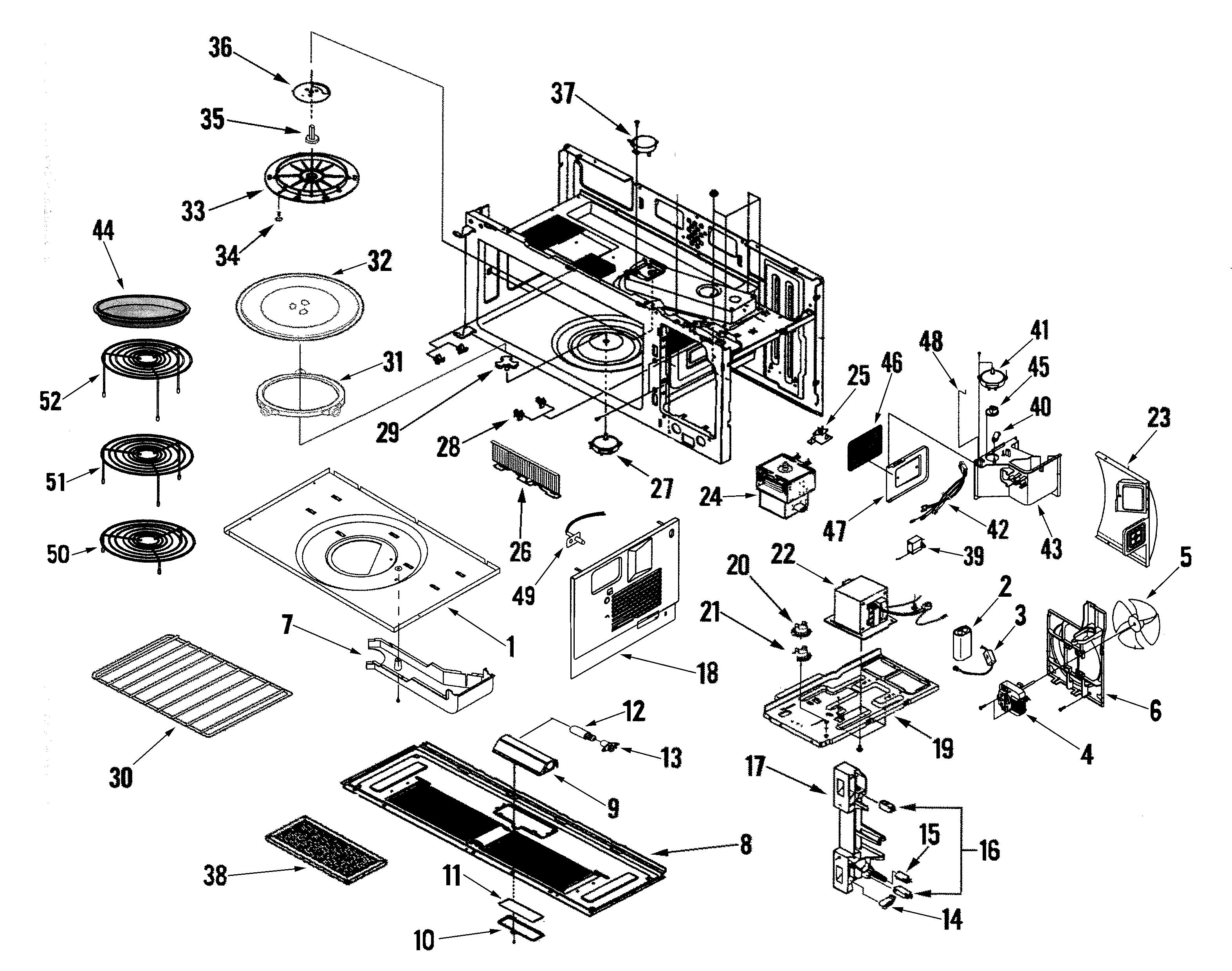 jenn-air jmv9169baw microwave wire rack-shelf