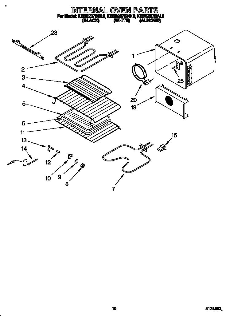 Kitchenaid Kebs207bbl0 Oven Wire Roasting Rack