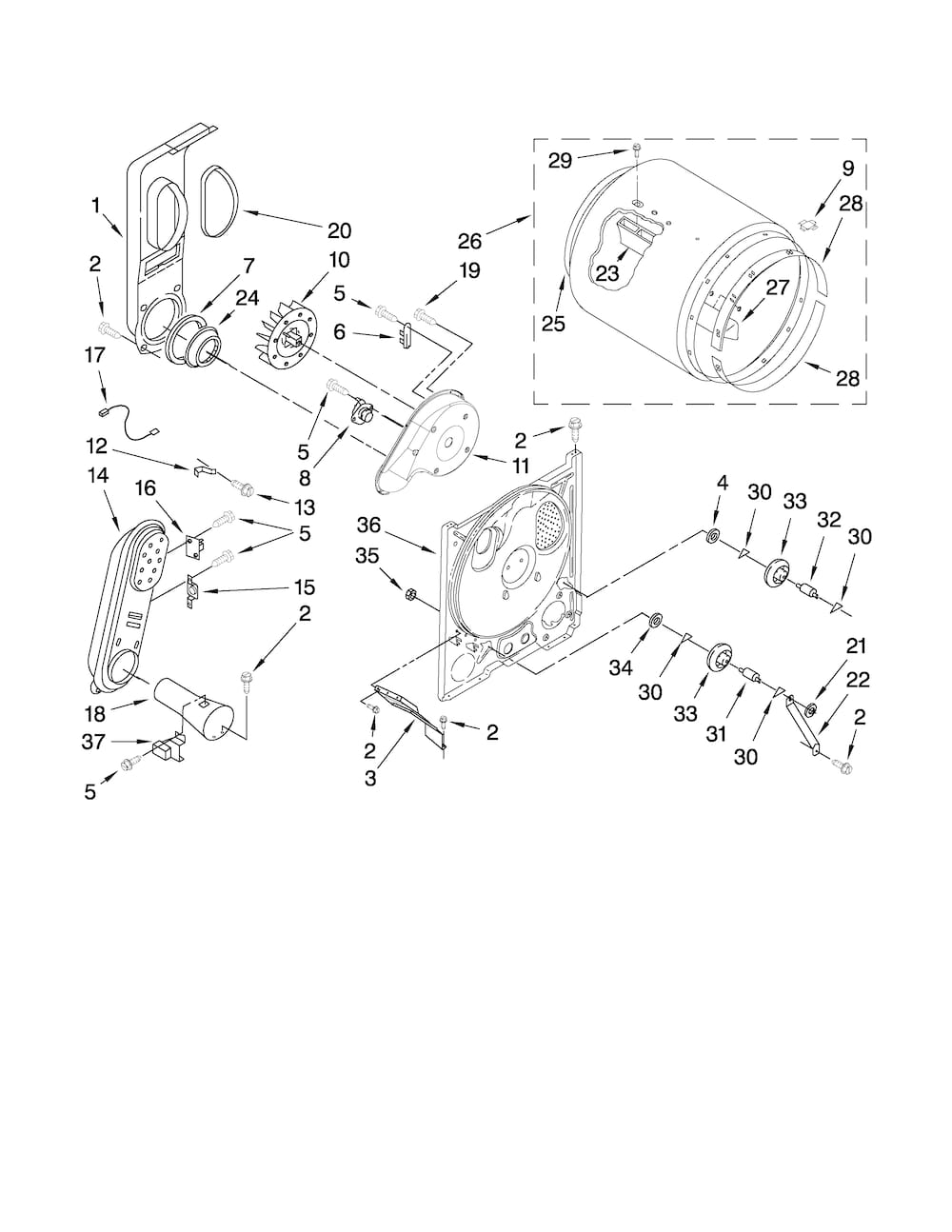 roper rgd4440vq1 cycling thermostat  l155-25