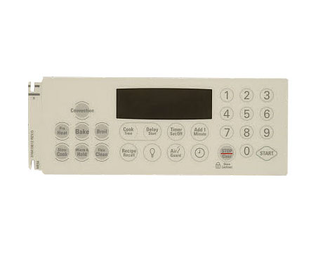 Frigidaire 316419812 Range Control Panel Overlay Genuine OEM part