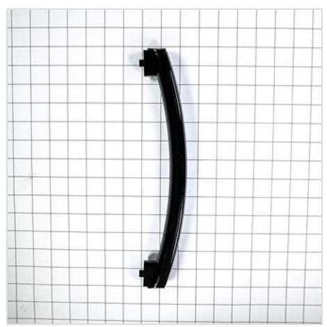 Ge Jnm3151df1bb Microwave Door Handle Black Genuine Oem