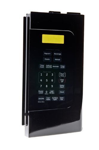 Ge Jvm1540dm5ww Touchpad  Control Panel  Keypad -black