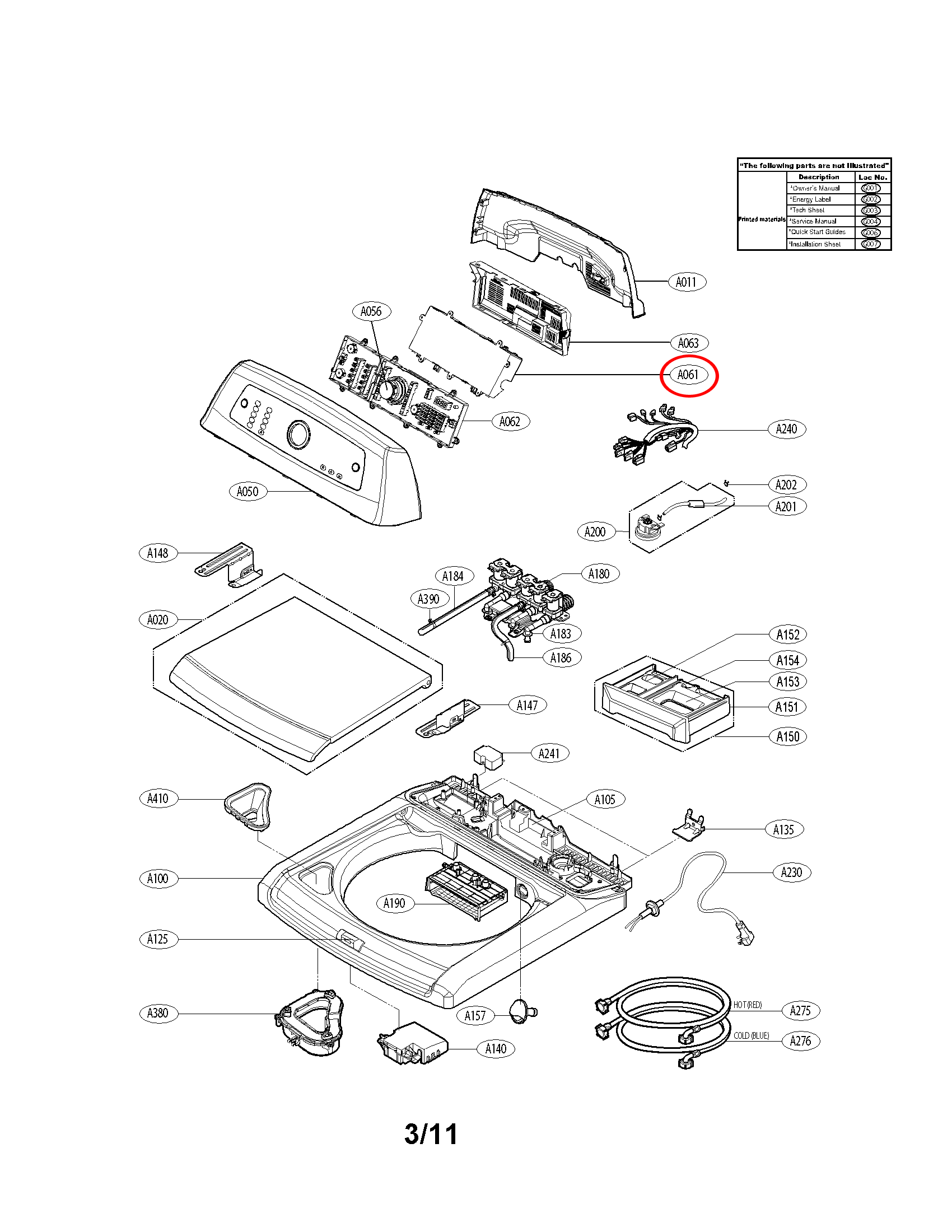 lg part  ebr62198105 pcb assembly main  oem