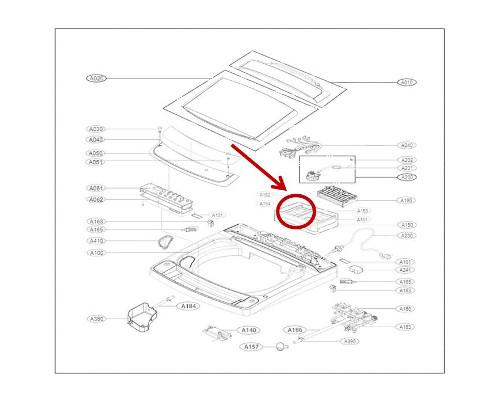 Lg Part  Mbl65460501 Softener Cap  Oem