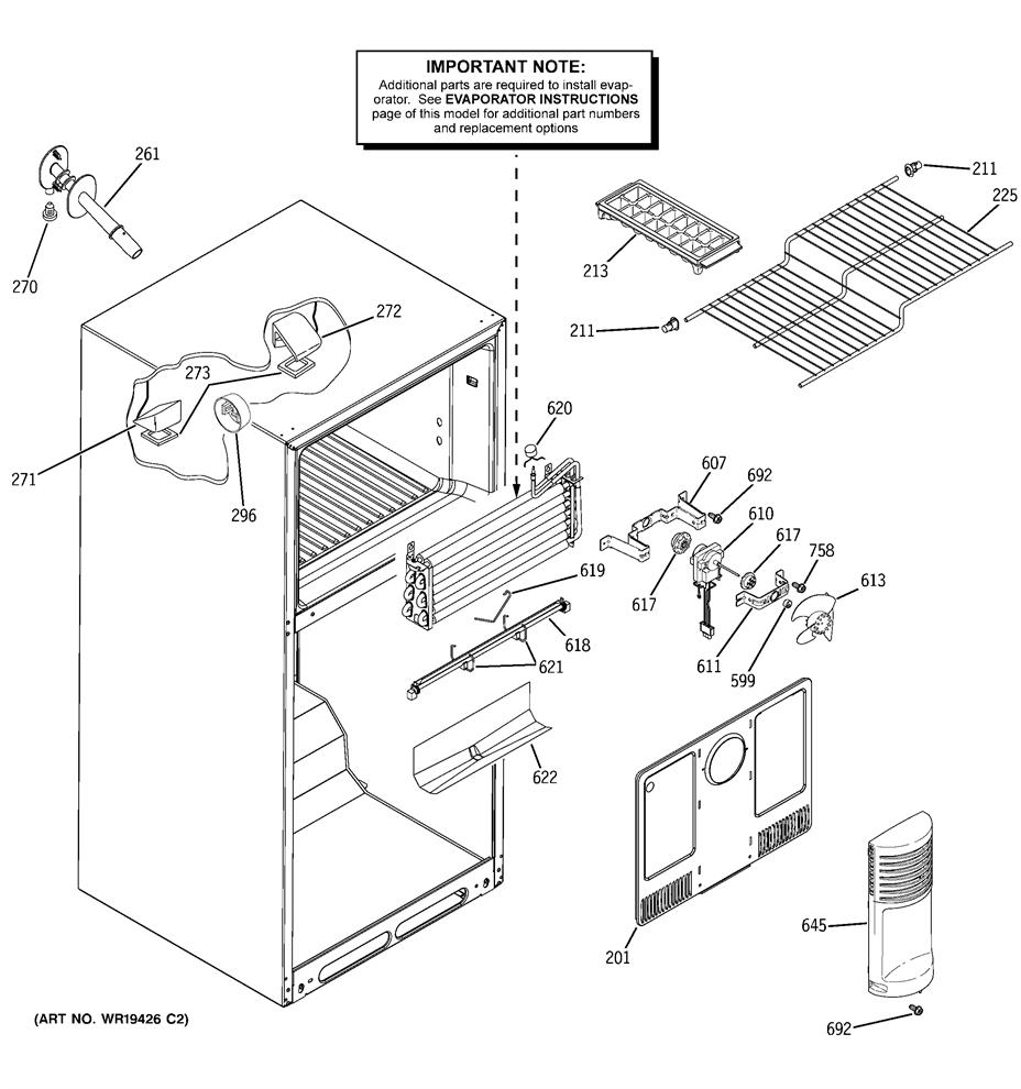 Hotpoint Hts18bbpblww Freezer Wire Shelf