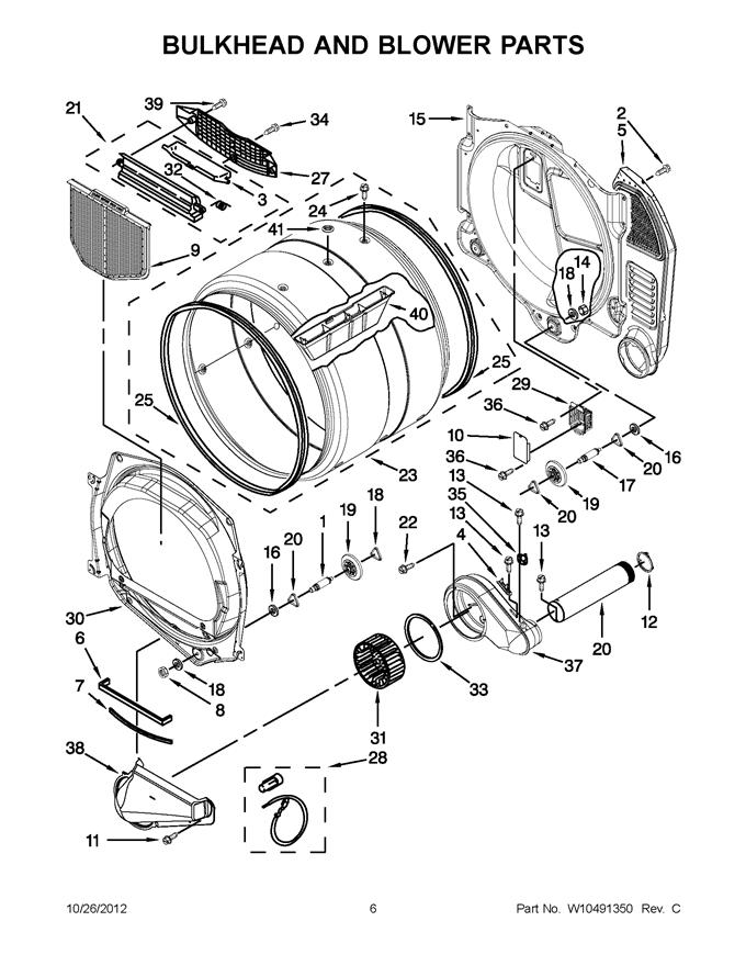 Maytag Mlg20pdbgw0 Dryer Lint Filter Screen Genuine Oem