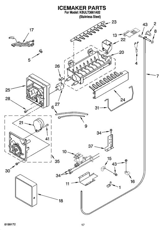 31 ge ice maker parts diagram
