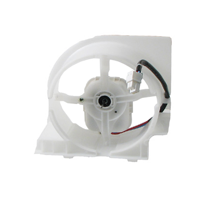 Samsung rs2530bwp condenser fan motor without fan for Samsung refrigerator condenser fan motor