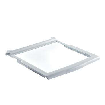 Whirlpool WRS325FDAM02 Crisper Drawer Shelf-Cover w/Glass (18x18.5) Genuine OEM