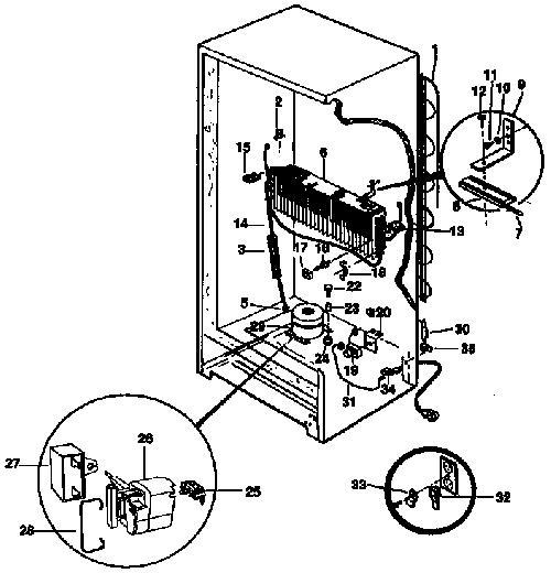Kenmore 253.9239715 Compressor Run Capacitor - Genuine OEMGenuine Replacement Parts