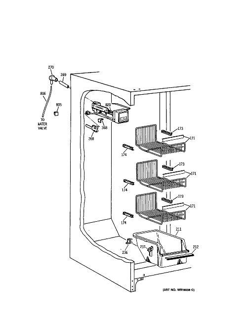 Kenmore 363 9557714 Refrigerator Ice Maker Assembly Kit