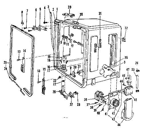 Kenmore 587.153200 Blower Motor