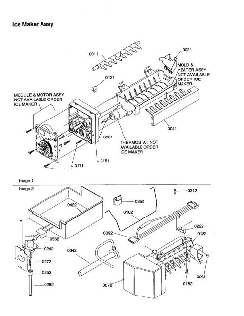 Kenmore 596 79142992 Replacement Ice Maker Genuine Oem