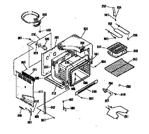 Kenmore 911 4524190 Oven Bake Element