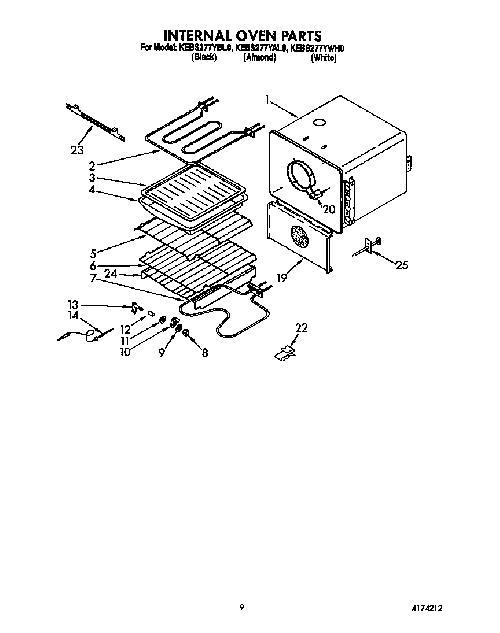 Kitchenaid Kebs277ywh0 Oven Wire Roasting Rack