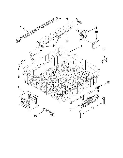 Kitchenaid Kuds30ixss4 Rack Adjuster Kit Left And Right