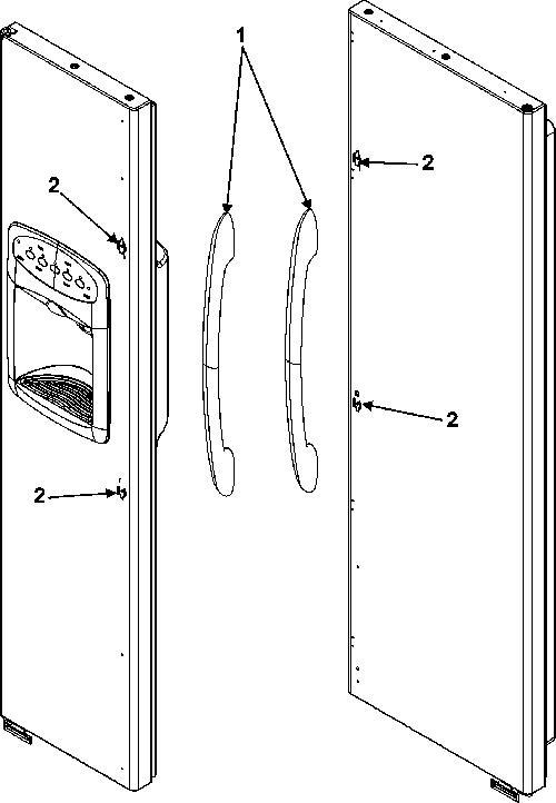 Admiral Lsd2615hez Door Handle