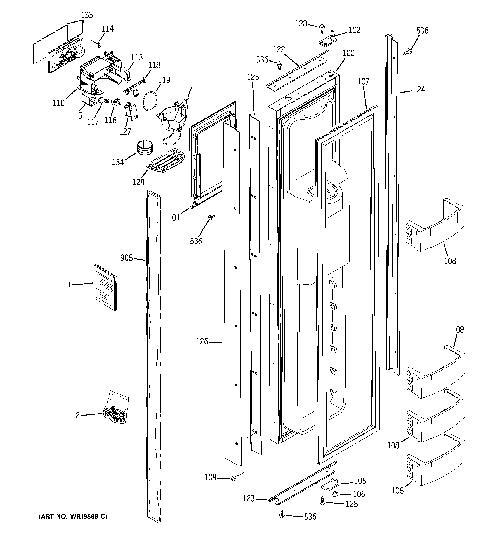 ge zisb420drf dispenser switch