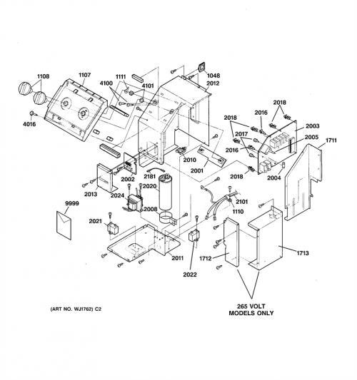 Ge Az32h15e4cm1 Burner Selector  Control Knob
