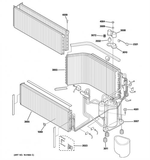 Ge Az39h07eadm1 Drive Printed Wiring Board