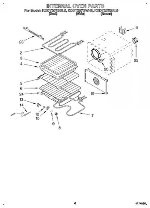 Kitchenaid Kddt207bal9 Oven Wire Roasting Rack