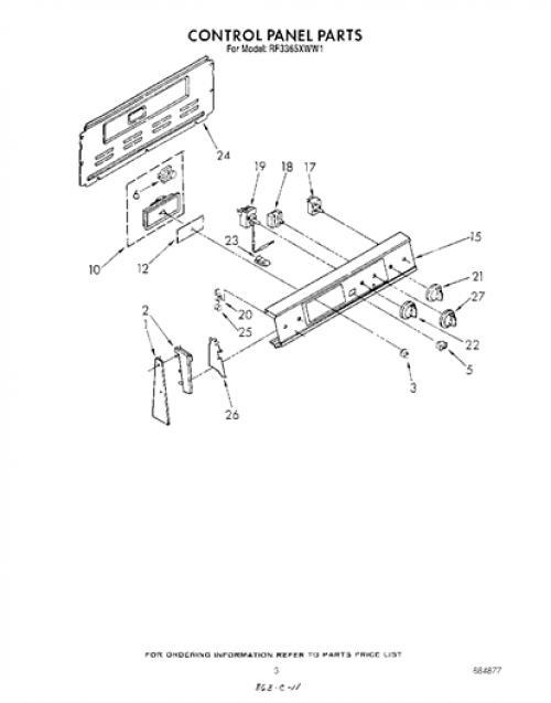 Robertshaw Infinite Switch Wiring Diagram from www.genuinereplacementparts.com