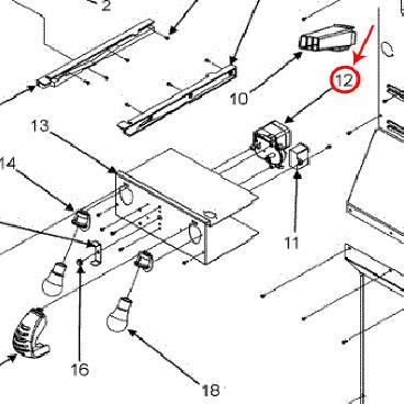 Whirlpool Part# 67003226 Ice Maker Auger Drive Motor (OEM) on