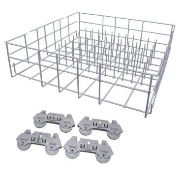 Whirlpool DU9000XR6 Complete Lower Dishrack Assembly  w