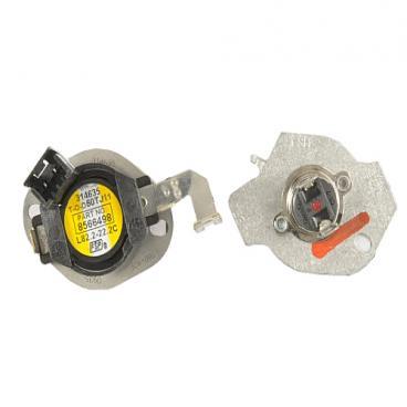 whirlpool wed6400sw1 thermal cut-out/thermal fuse kit - genuine oem