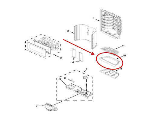 Kitchenaid Krff507ess01 Refrigerator Parts