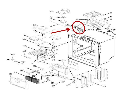 Whirlpool Part W11205082 Module Oem