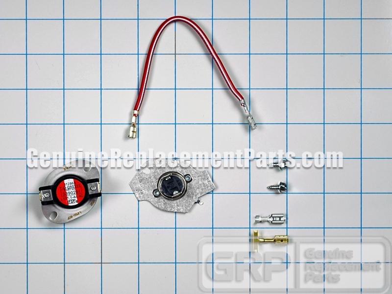 Whirlpool Part# 279816 Thermal Cut-Off Kit (OEM) on haier dryer wiring diagram, gas dryer wiring diagram, kenmore dryer wiring diagram, whirlpool dryer exploded view, whirlpool dryer controls, whirlpool electric dryer, whirlpool dryer schematic, whirlpool gas dryer troubleshooting, whirlpool dryer not heating, electrolux dryer wiring diagram, whirlpool gold refrigerator diagram, whirlpool dryer solenoid, whirlpool du945 dishwasher parts diagram, laundry dryer wiring diagram, whirlpool dryer power, whirlpool dryer back panel, maytag dryer wiring diagram, dryer heating element wire diagram, whirlpool schematic diagrams,
