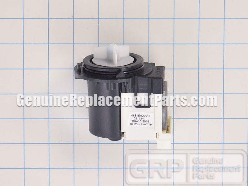 Lg Part 4681ea2001t Drain Pump And Motor Assembly Oem