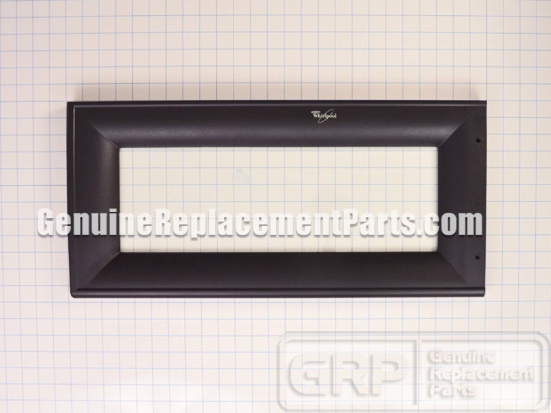 Whirlpool Part 8185234 Door Frame Panel With Glass
