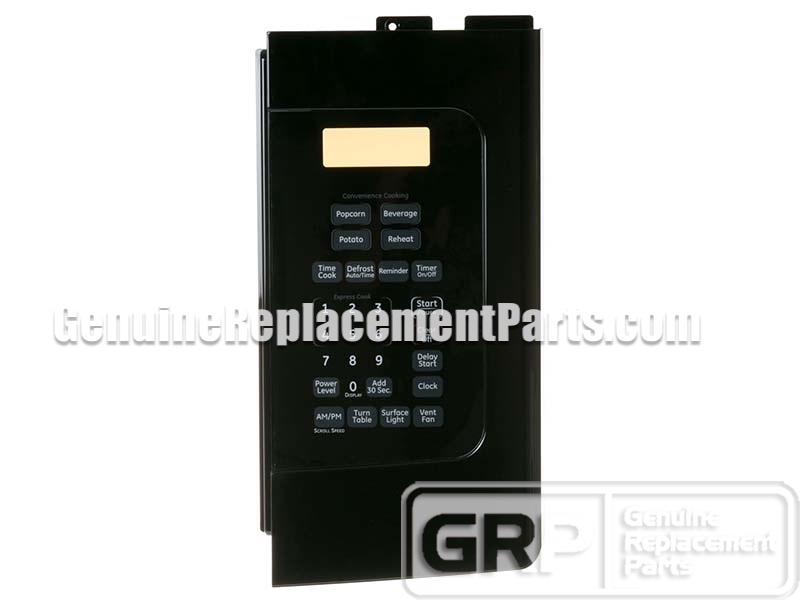 Ge Jvm1540dm4ww Touchpad  Control Panel  Keypad -black