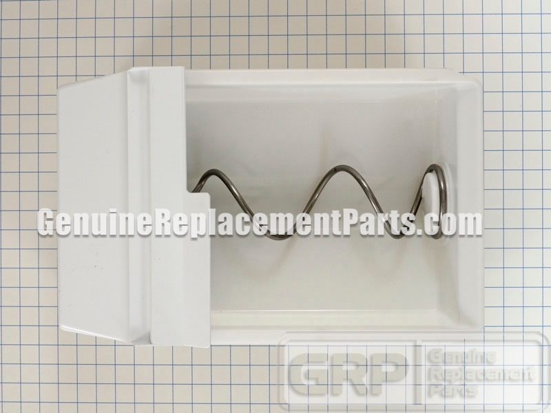 Kitchenaid 4ksrs22qaw01 Ice Container Dispenser Assembly